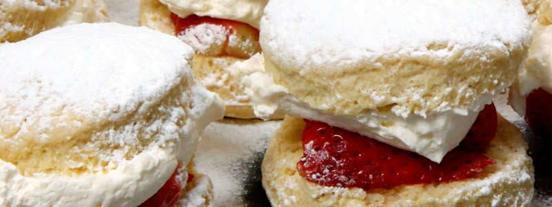 Fresh Cream Scones from Claveliis Bromsgrove