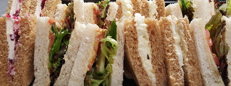 Rolls and sandwiches from Claveliis
