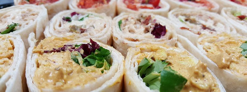 Fresh tasty wraps from Claveliis Bromsgrove