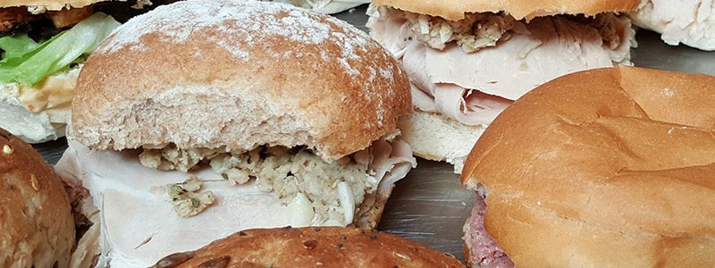 Fresh Rolls and Sandwiches from Claveliis
