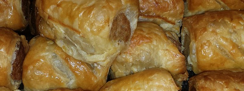 Sausage Rolls from Claveliis